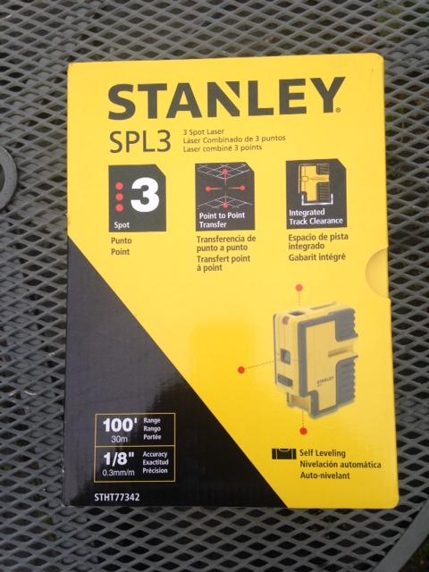 Stanley Stht77342 Spl3 3 Spot Beam Laser Level Less Than
