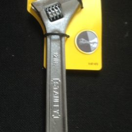 Stanley 0-87-472 Chrome Adjustable Wrench 300mm (12in)